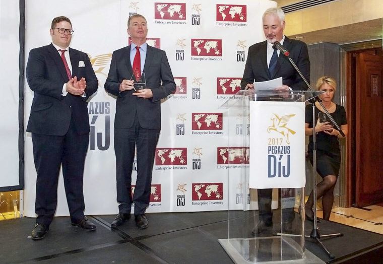 Process Solutions� Hungarian office is among the three fastest-growing companies in Hungary - Pegazus Award
